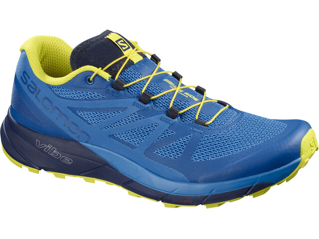 Salomon M's Sense Ride Shoes Snorkel Blue/Indigo Bunting/Sulphur Spring